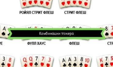 Photo of Комбинации покера